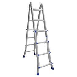Escalera de Aluminio Plegable Telescópica
