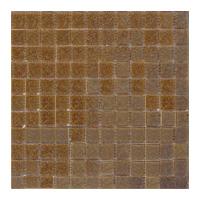 Mosaico de Vidrio Café Oscuro 32.7x32.7cm (.107)