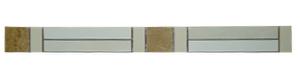 Listelo Mondo dei Fiori 2.5x28cm