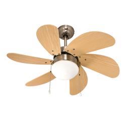 Ventilador para Techo con Lámpara Satin 32