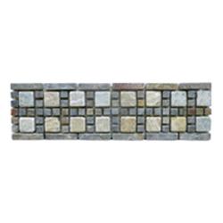 Listelo de Piedra Combinado 8.5x30cm