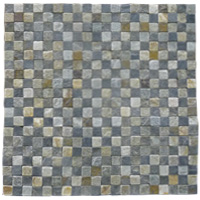 Mosaico de Piedra Cuadro Pequeño 30.5x30.5cm (.093)