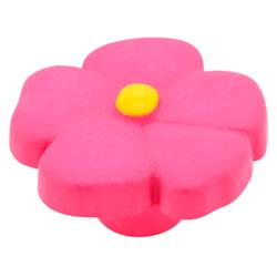 Pomo Flor Rosa de 36 mm. Estamp Hecho en España