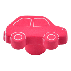 Pomo Red Car de 36 mm.  Estamp Hecho en España