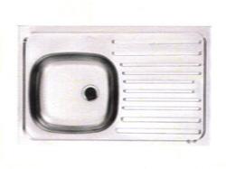 Fregadero para Sobreponer de 80 x 50 cm de Acero Inoxidable Franke