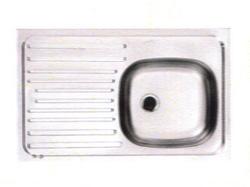 Fregadero para Sobreponer de 80 x 50 de Acero Inoxidable Franke