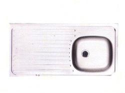 Fregadero para Sobreponer de 100 x 50 cm de Acero Inoxidable Franke