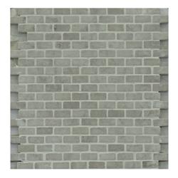 Mosaico de Mármol Gris 30.5x30.5 (0.093)