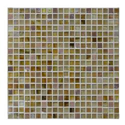 Mosaico de Vidrio  Mármol Golden 32.7x32.7cm (.107)