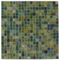 Mosaico de Vidrio Mármol Aqua 32.7x32.7cm (.107)