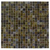 Mosaico de Vidrio Mármol Tierra 32.7x32.7cm (.107)