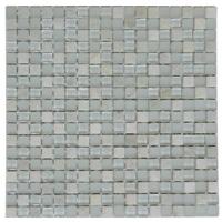 Mosaico de Vidrio Mármol White 30x30cm (.09)