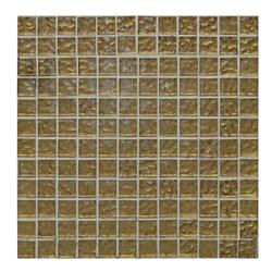 Mosaico de Vidrio Oro 30x30cm (.90) 0.99