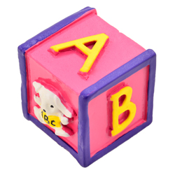 Pomo Pink Cube de 35x35 mm AyB