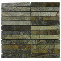 Mosaico de Mármol Forest Green 30x30 cm