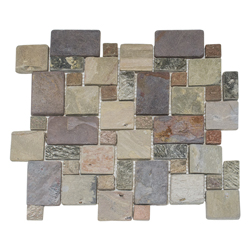 Mosaico de Piedra Mix Roman 30x30cm