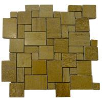 Mosaico de Mármol Ivory Gold Roman 30x30cm