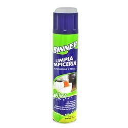 Limpiador de Tapicería  Alfombra y Tela Binner