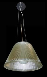 Lámpara colgante de Cristales Pompona con 1 boquillas