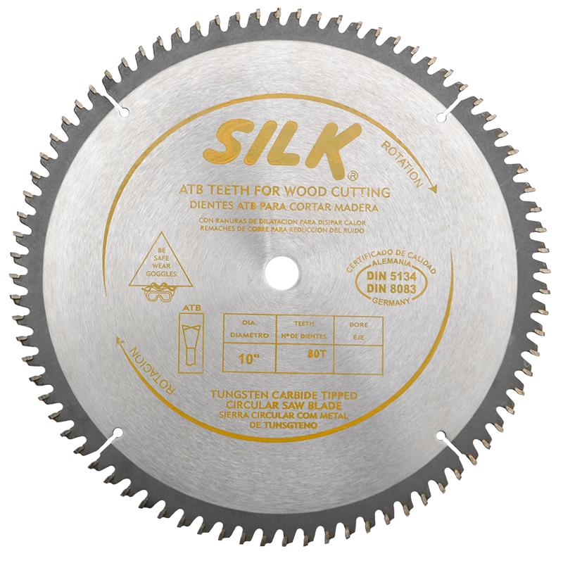 Disco Sierra Circular Para Madera Silk