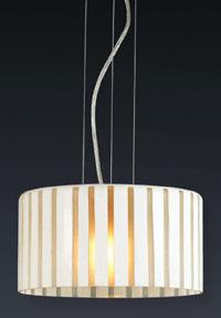 Lámpara colgante decorativas con rayas verticales