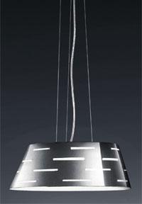Lámpara colgante semirectangular