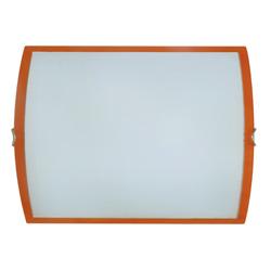 Plafón de Vidrio Filos Naranja