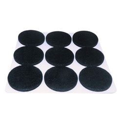 Protectores Adhesivos de Felpa Anti Rasguños AyB