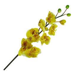 Flor Orquídea Marbel Amarilla