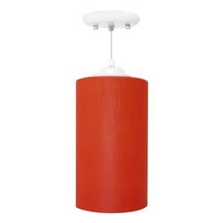 Lámpara Colgante Tubo Ancho con 1 Boquilla