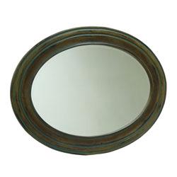 Espejo Ovalado Café