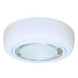 Plafón de vidrio Goms en Blanco