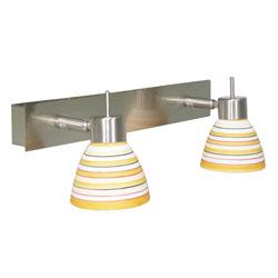 Lámpara móvil de 2 Spots Varios Colores