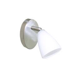 Lámpara móvil de 1 Spots Blanco