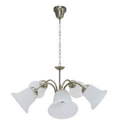 Lámpara colgante Clásica de 5 focos Flores