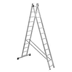 Escalera De Aluminio Telescópica Expandible