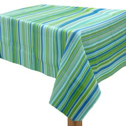 Mantel con Diseño de Rayas Verde
