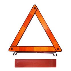 Triángulo Reflectivo Rojo