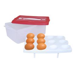 Cubeta Plástica para 24 Huevos