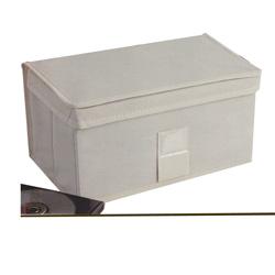 Caja de Tela para Guardar DVD