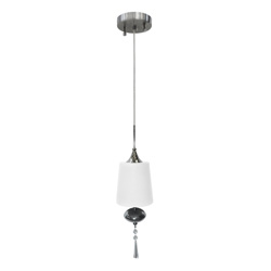 Lámpara colgante campana con 1 boquilla