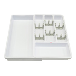 Organizador Plástico Blanco para Utensilios Oxo
