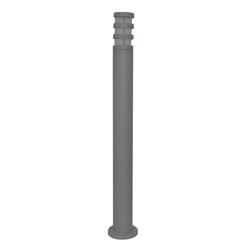 Lámpara de Piso para Exterior Aluminio Oxidal Pole