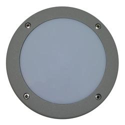 Lámpara de pared 18 leds para exterior Aluminio Oxidal Numbers en Mate