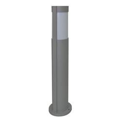 Lámpara de Piso para exterior Aluminio Oxidal poste