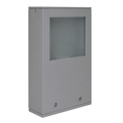 Lámpara de Piso para Exterior Aluminio Oxidal Mini