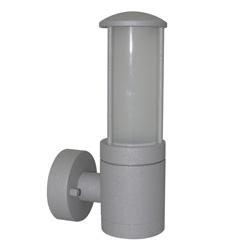 Lámpara de Pared para Exterior Tubo Aluminio Oxidal