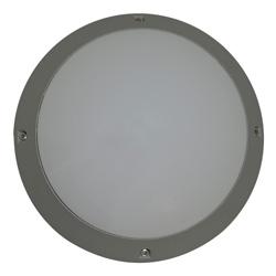 Plafón para exterior Aluminio Oxidal Dreff Circular en Mate