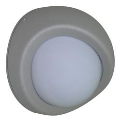 Lámpara de pared para exterior Aluminio Oxidal Hear en Mate
