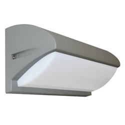 Lámpara de pared para exterior Aluminio Oxidal Lexd en Mate